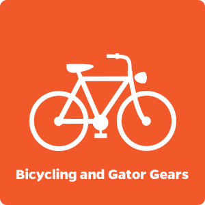 Bicycling and Gator Gears
